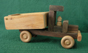 Handmade Wooden Toy Dump Truck from D and ME  Toys